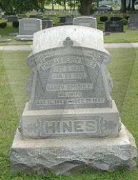 Thomas Hines Grave Marker