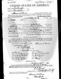CPT Thomas H. Hines - Passport Application
