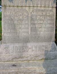 Matilda Cline - grave marker