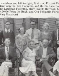 Ben Forsythe Family Photo