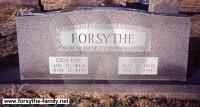 Grafton R. Forsythe - grave marker