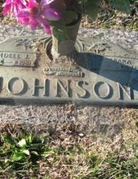Lindell & Barbara Johnson - Grave Marker