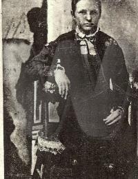 Esther Forsythe - c 1881, Edgar Co., IL