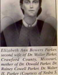 Elizabeth Ann Bowers Parker