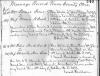 Peter & Charity Snedeker - marriage certificate