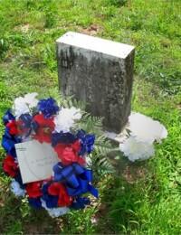 Marshall's Grave Marker