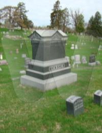 Ricksher Family Grave Marker - Fairfield, Iowa