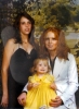 Donna with daughter Diana and friend - Cathy Harrington