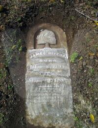 James Givens - Grave Marker