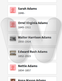 Mason & Armenia Adams - family