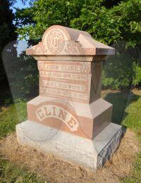 John & Jane Cline - grave marker
