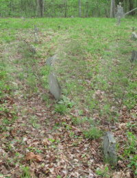 Mary Anne Armstrong - grave marker