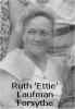 Ruth 'Ettie' Laufman Forsythe