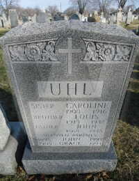 Uhl Family - grave marker