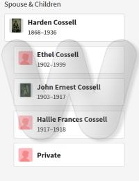Harden & Ethel offspring