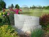 Fairfield, Iowa - Cemetery sinage along Kirkwood Avenue access road.
