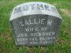 Carolyn M. (Cline-Carptner) Ricksher - grave marker