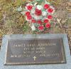 James 'Leo' Johnson - Grave Marker