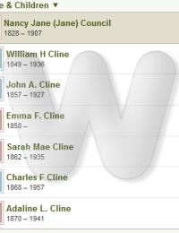 John & Jane Cline - Family