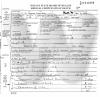 Ulysses Grant Webb - death certificate