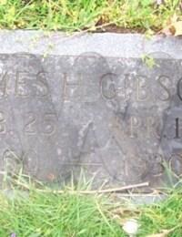 James H. Gibson (grave marker)
