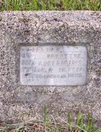 William Forsythe grave marker