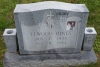 Elwood Hines - grave marker