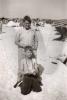 Eddie (standing) and George Uhl