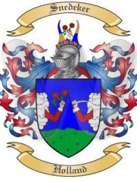 Snedeker Coat of Arms
