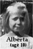 Alberta Forsythe (age 10)