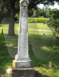 David Cline - grave marker