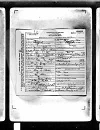 James A. Hines - Death Certificate
