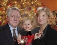 Richard, Abby and Dawn Forsythe
