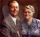 Veachel Johnson and Mabel Gladys Johnson (Belcher)