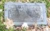 Ralph V. Hood (grave marker)