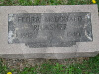 Flora McDonald - Grave Marker