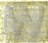 Freeland Maynard Death Certificate