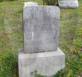 Peter Snedeker Grave Marker - Forsythe Cemetery