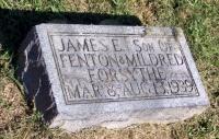 James E. Forsythe grave marker