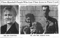 Ruth Ettie, Martha Jane and Harold Rose