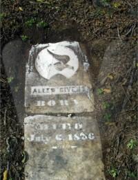Allen Givens (grave marker)