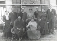 Robert DeKalb Forsythe Family