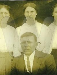 Maggie Mae, John Thomas, Sallie Ann and Eva V. Hines