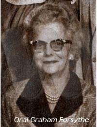 Oral Graham Forsythe 1962