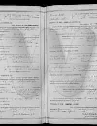 Floyd Head & Mary Helen Gibson Marriage License