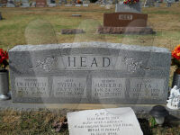 Floyd Harrison Head - Grave Marker