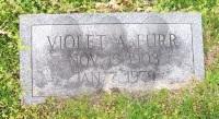 Violate (Check) Furr - (grave marker)