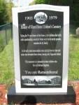 Glenn Home Memorial Marker