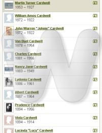 Winnie & Martin Cardwell Family