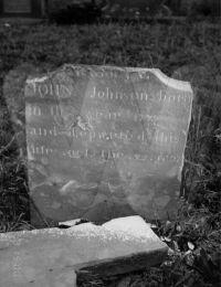 John Johnson - Grave Marker